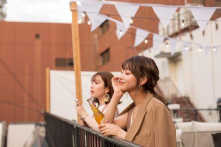 神戸で海外気分!世界のビールを集めたルーフトップビールバーTHE DECK